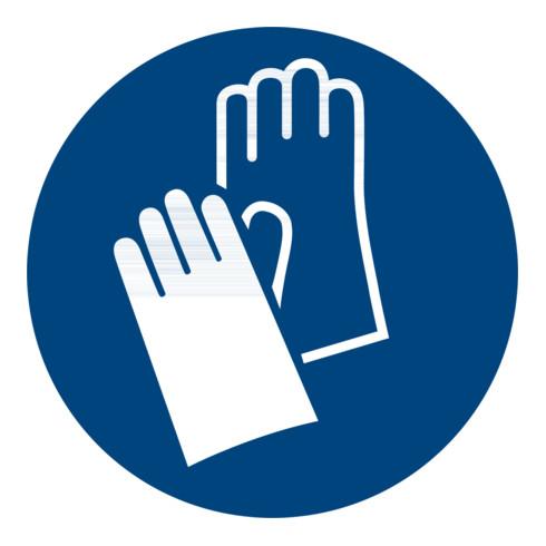 Gebotszeichen Handschutz benutzen, Typ: 04100