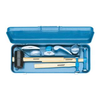 Gedore Ausbeulwerkzeugsatz ohne Koffer, Werkstattsortiment 8-teiilg