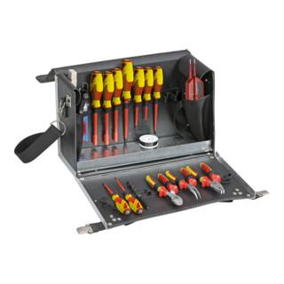 Gedore Ausbildungs-Werkzeugkoffer Elektro, 18-teilig