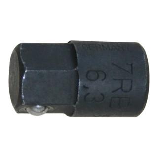 Gedore Bit-Adapter 1/4'' 6kt, 10 mm für 7 R / 7 UR