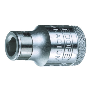 "Gedore Bit-Adapter 1/4"" skt - 3/8"" vkt"