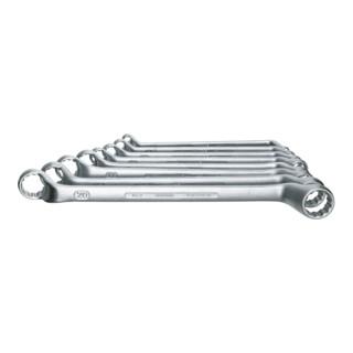 Gedore Doppelringschlüssel-Satz 8-teilig, 6-22 mm, tiefgekröpft