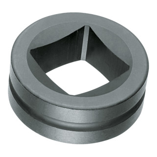Gedore Einsatzring für Freilaufknarren 4-kant 17 mm