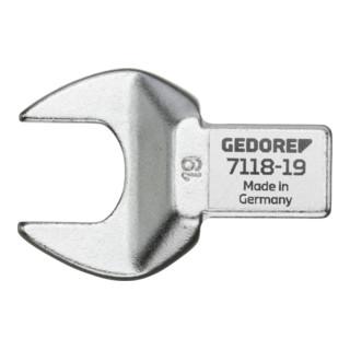 Gedore Einsteckmaulschlüssel 14x18 mm