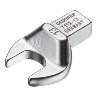 Gedore Einsteckmaulschlüssel 9x12 mm