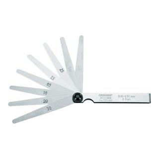 Gedore Fühlerlehrenfächer 0,05-0,50 mm