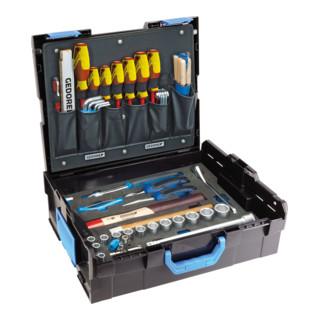 Gedore Gedore L-BOXX 136 mit Sortiment Handwerker, 58-tlg