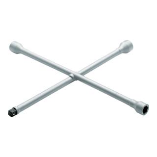 """Gedore Kreuzschlüssel PKW 17x19x21x1/2"""" 4-kt, 420x420 mm"""