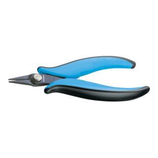 Gedore Miniatur Elektronik-Spitzzange, kurze, schmale, glatte Backen