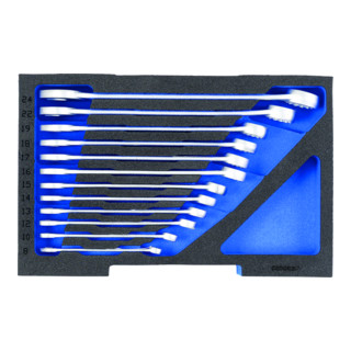 Gedore Schaumstoffeinlage 1/2 L-BOXX 136 leer - EI-1100CT1-7 Ring-Maulschlüssel-Satz