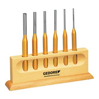 Gedore Splinttreiber-Satz 6-tlg im Holzständer