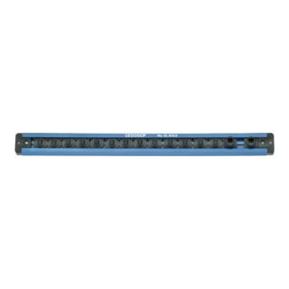 """Gedore Steckleiste 1/4"""" magnetisch, 380 mm, 13 Steckplätze"""