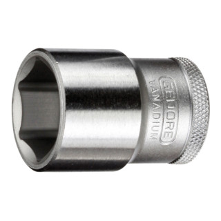 """Steckschlüsseleinsatz 1/2"""" 6-kant 19 mm"""