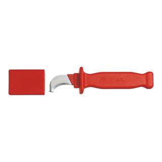 Gedore VDE-Kabelmesser mit Hakenklinge und Klingenschutz