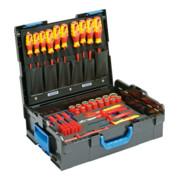Gedore VDE-Werkzeugsortiment HYBRID 53-tlg in L-BOXX 136