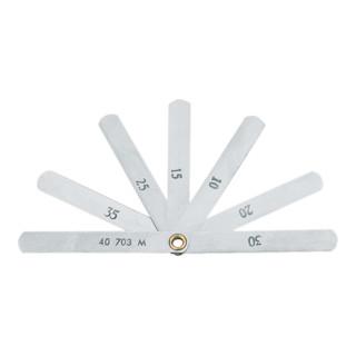 Gedore Ventil-Fühlerlehre 0,1 - 0,4 mm