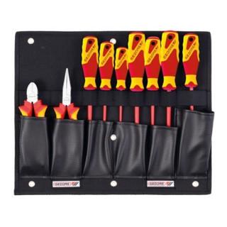 Gedore Werkzeugkarte mit VDE-Zangen/Schraubendreher-Sortiment