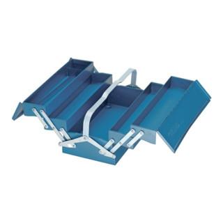 Gedore Werkzeugkasten, leer, 5 Fächer, 210x420x225 mm