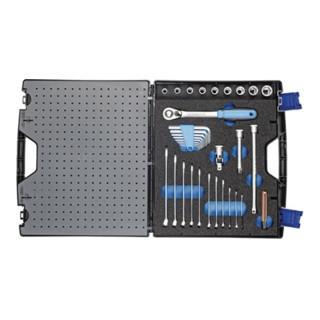 Gedore Werkzeugkoffer mit Sortiment TOURING 1000, 49-teilig