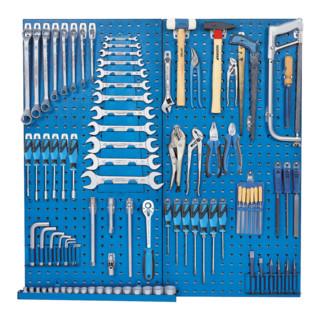Gedore Werkzeugsortiment mit Werkzeugtafel, geliefert in 1500 ES-Modulen