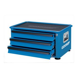 Gedore Werkzeugtruhe mit 3 Schubladen, H 1060 x B 660 x T 400 mm