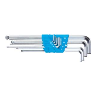 Gedore Winkelschraubendreher-Satz im Halter 8-tlg 2-10 mm, verchromt