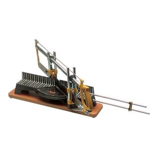 Gehrungssäge Tisch-L.400mm Druckguss/Platte HO Blatt-L.550mm Schnitt-H.120mm