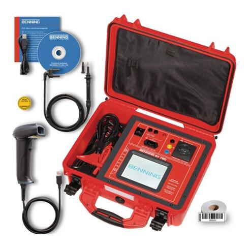 Gerätetester ST 760 SET aktive/passive Prüfung/auch Schweißgerät