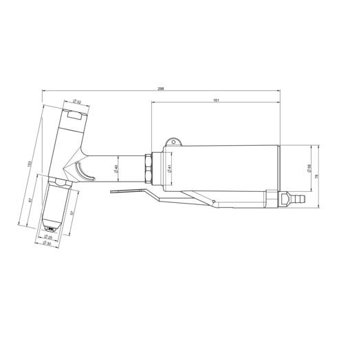 Gesipa Blindniet-Setzgerät PH 1