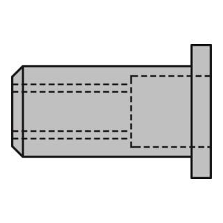 Gesipa Blindnietmutter Flachrundkopf Mini Pack