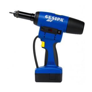 Gesipa FireBird® Pro Gold Edition mit 1 Li-Ion Akku 2,1 Ah / Ladegerät im Koffer