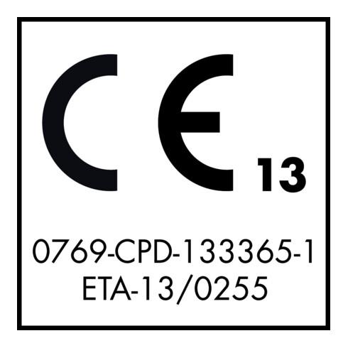 Gesipa GBulb Stahl/Stahl 6,4 x 17