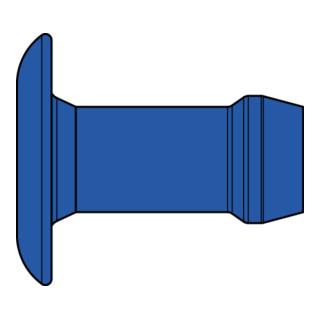 Gesipa Magazin-Blindniet Speed Bulb® Stahl Flachrundkopf 3,2 x 4,7 Übergröße