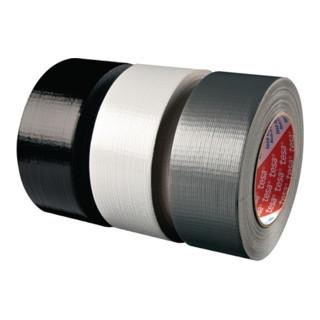 Gewebeklebeband tesa 4613 schwarz Gewebe PE-beschichtet Rolle 50mx48mm