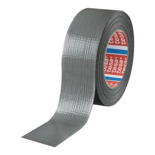 Gewebeklebeband tesa 4613 silber Gewebe PE-beschichtet Rolle 50mx48mm