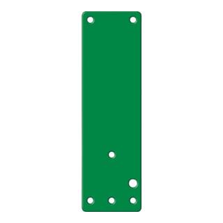 GFS Montageplatte 901 670 Mont.an Brandschutztüren grün lack.L.175mm B.52mm