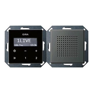 GIRA Unterputz-Radio RDS 228020