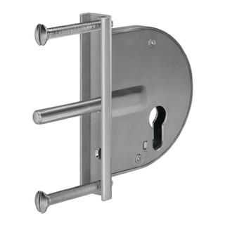 Gittertor-Riegelschloss 104 Dornm. 50mm verz. AMF
