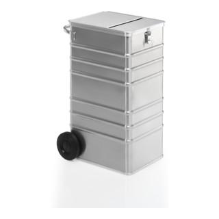 Gmöhling Entsorgungsbehälter D 1009 S ergonomic Volumen 240l Aluminium