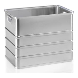 Gmöhling Stapelkasten A 152 ungelocht 120l Aluminium