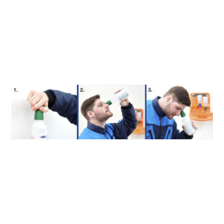GRAMM medical Actiomedic Augenspülflasche BioPhos74, phosphatgepufferter Spüllsg. 4,9%, 250 ml