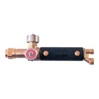 Griffstück ZEK 17 Anschl. G1/4Zoll- G3/8Zoll LH 17mm Druckg-Messing Schaft W21,5