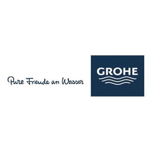Grohe 2-Loch-Waschtischbatterie EUROCUBE Wandmontage Ausladung 171 mm chrom
