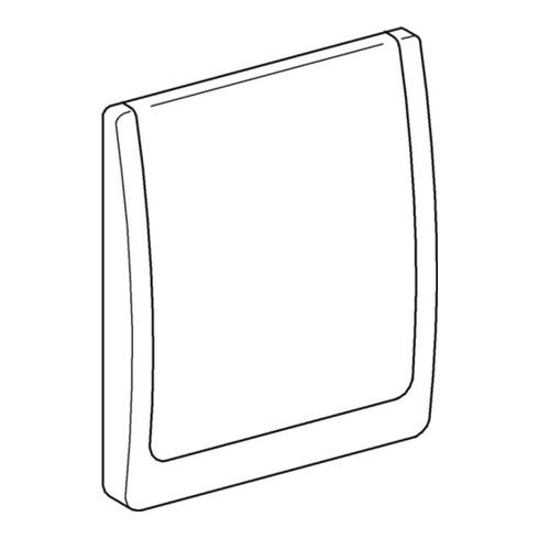 Grohe Abdeckplatte für AT-DS, weiss