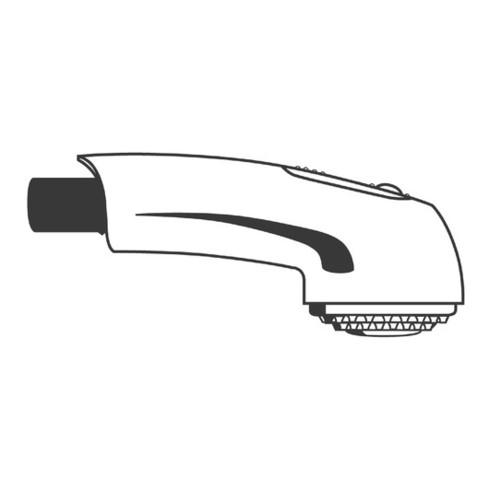 Grohe Spülbrause weiß/fehgrau