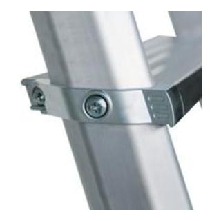 Günzburger Aluminium-Stufenstehleiter ML beidseitig begehbar
