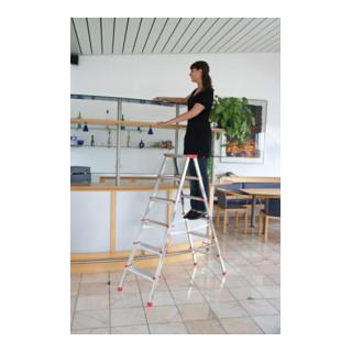 Günzburger Standard-Stehleiter beidseitig begehbar