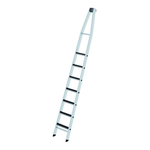 Günzburger Stufen-Glasreinigerleiter Oberteil mit clip-step R 13 7 Stufen