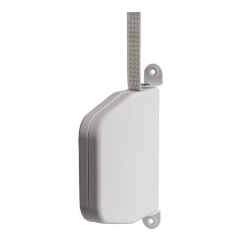 Gurtwickler Aufschraubwickler Ku.weiß Gurt-B.23mm f.Gurt-L.6m Gr.152x150x34mm