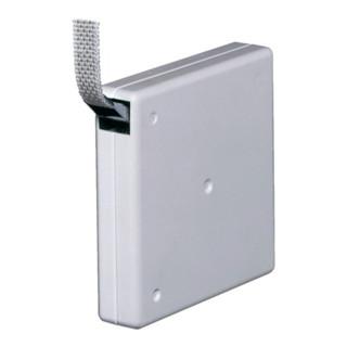 Gurtwickler Aufschraubwickler weiß weiß Gurtbreite 14mm Gurtlänge 5 m